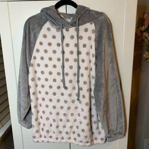 Easel Extra Soft Polka Dot Sweatshirt.